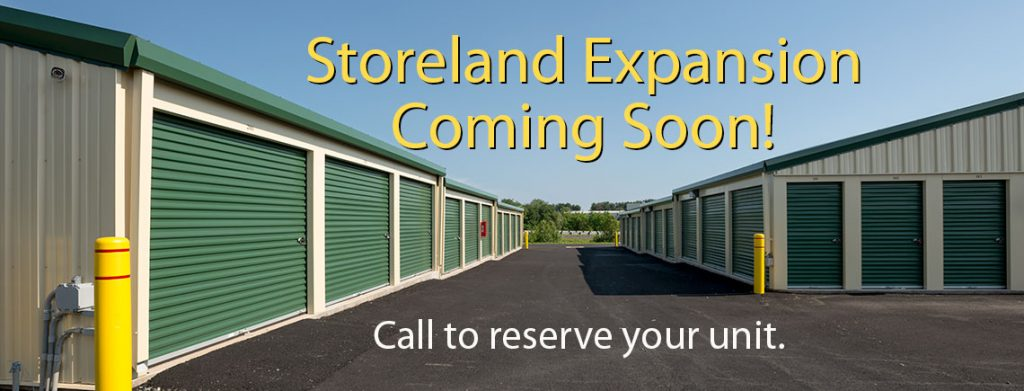 Storeland expansion coming soon