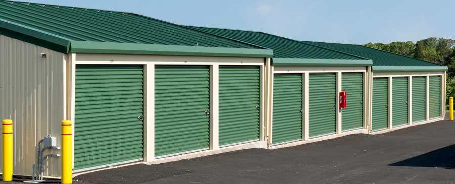 storeland self storage outside units